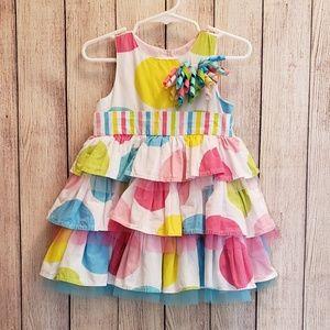 Mud Pie Tiered Birthday Dress